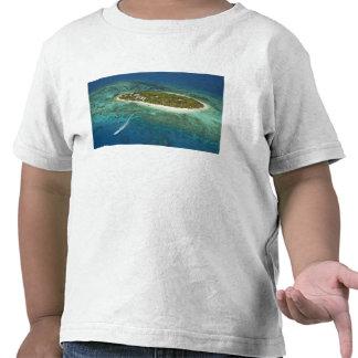 Treasure Island Resort and boat, Fiji T-shirt