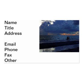 Treasure Island Sunset Business Cards