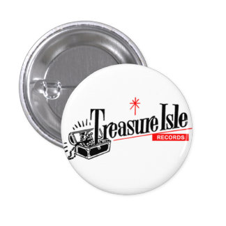 treasure isle 3 cm round badge