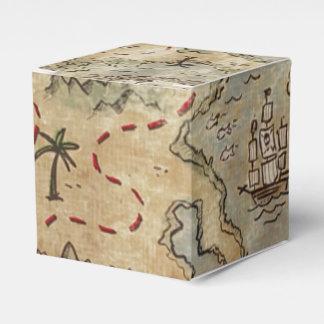 Treasure Map Favour Box