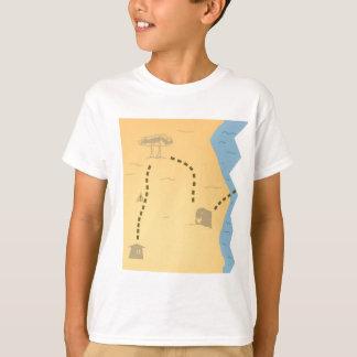 Treasure Map Half T Shirts