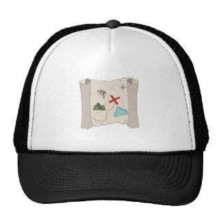 Treasure Map Trucker Hat