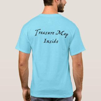 Treasure Map Inside T-Shirt