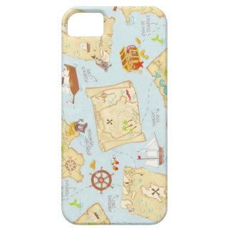 Treasure Map iPhone 5 Covers