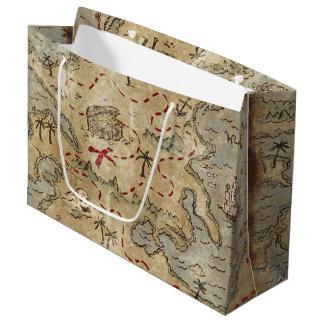 Treasure Map Large Gift Bag