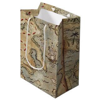 Treasure Map Medium Gift Bag