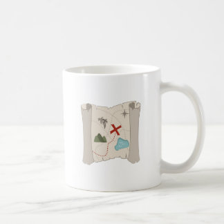 Treasure Map Coffee Mug