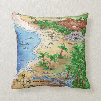 Treasure Map - Pillow