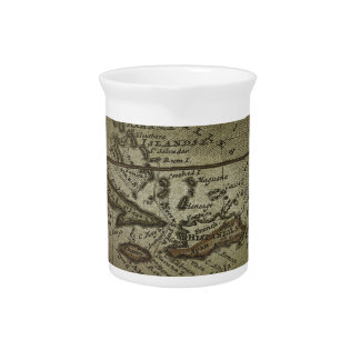 Treasure Map Drink Pitcher