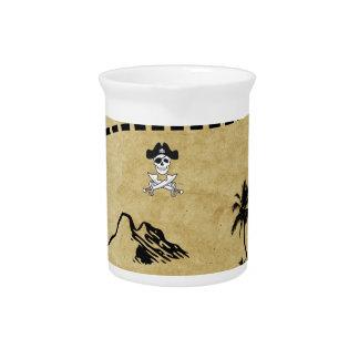 treasure map pitchers