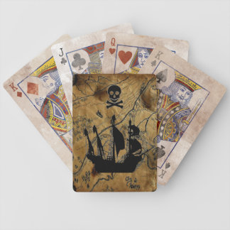Treasure Map Playing Cards
