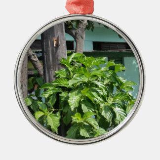 Treasure nostalgia today in Cuba telephone booth Metal Ornament