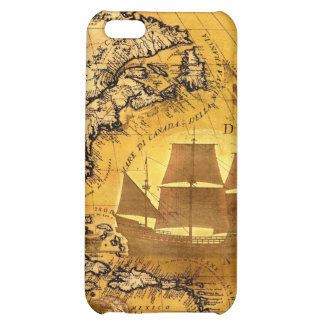 Treasure Ship Case For iPhone 5C