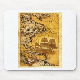 Treasure Ship Mousepads
