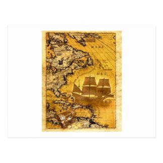 Treasure Ship Postcard