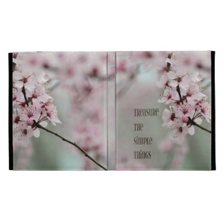 Treasure the Simple Things Floral iPad Case