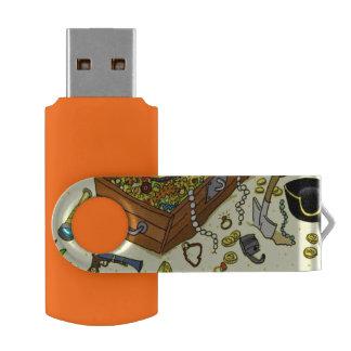 treasure USB Swivel Stick by DAL USB Flash Drive