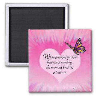 Treasured Memories Butterfly Poem Magnets