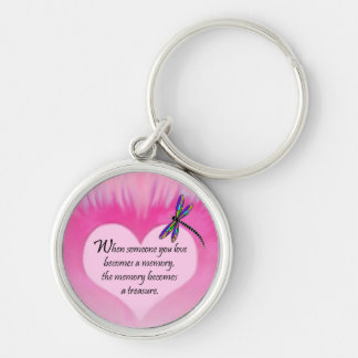 Treasured Memories Dragonfly Keychains