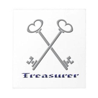 treasurfer notepad