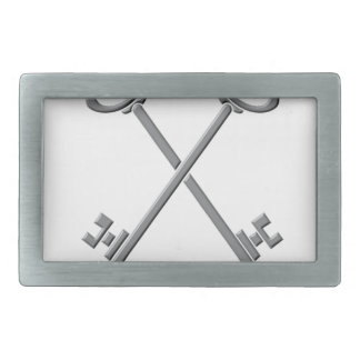 treasurfer rectangular belt buckle