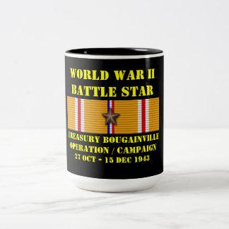 Treasury Bougainville Operation Campaign Two-Tone Coffee Mug