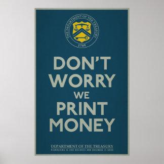 Treasury Department Parody Print