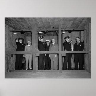 Treasury Firing Range: 1940 Poster