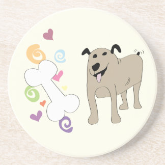 Treat Dog - Paw of Attraction Coaster