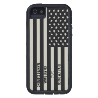 Treat 'em Rough IR Flag iPhone 5 case! Case For iPhone 5