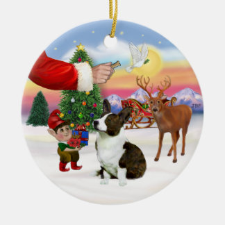 Treat for a Cardigan Welsh Corgi Ceramic Ornament