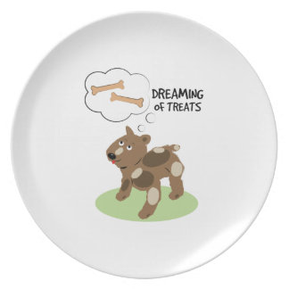 Treats Dreaming Party Plate