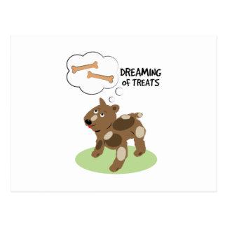 Treats Dreaming Postcards