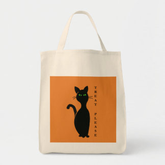 Treats Please Cat Tote Bag