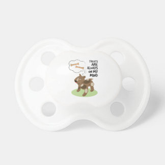 Treats Thoughts Baby Pacifier