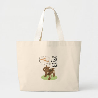 Treats Thoughts Canvas Bags