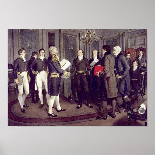 Treaty of Ghent Print