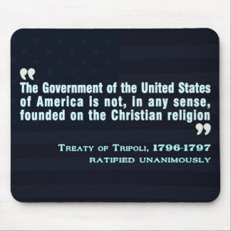 Treaty of Tripoli, 1796-97 Mouse Pad