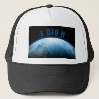 Treaure Hunters Planet Earth Metal Detecting Trucker Hat