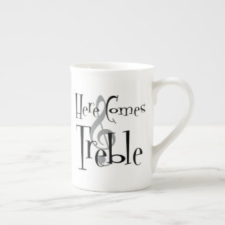 Treble Bone China Mug