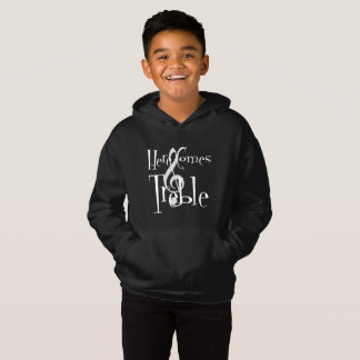 Treble Boy's Dark Hoodie