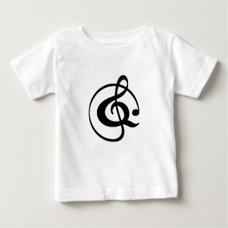 Treble clef baby T-Shirt