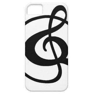 Treble clef case for the iPhone 5