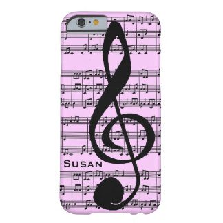 Treble Clef Design Phone Case