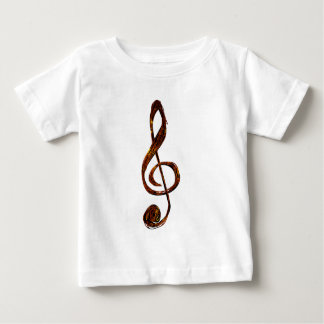 Treble Clef Expression Clothing Line Baby T-Shirt