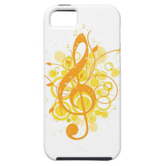 Treble Clef iPhone 5 Case