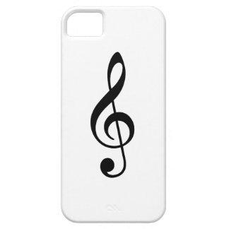 Treble Clef iPhone 5 Cases
