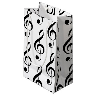 Treble Clef Musical Gift Bag