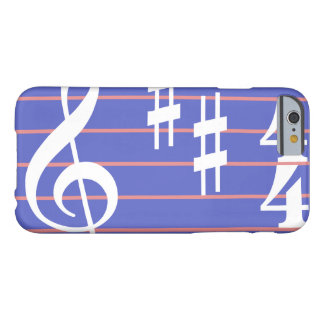 Treble Clef Phone Cover Case in Periwinkle