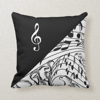 TREBLE CLEF-PILLOW CUSHION